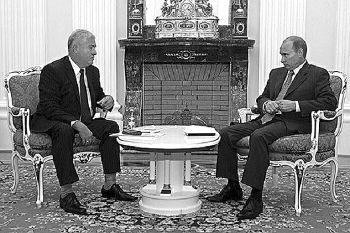 Putin si Voronin