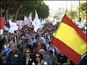 Peste un milion de spanioli au protestat impotriva legalizarii avortului